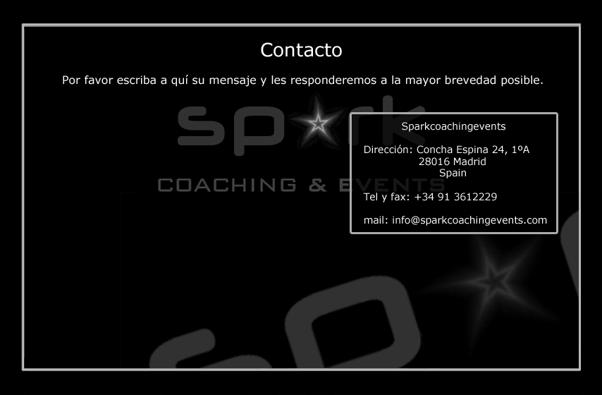 coaching contacto